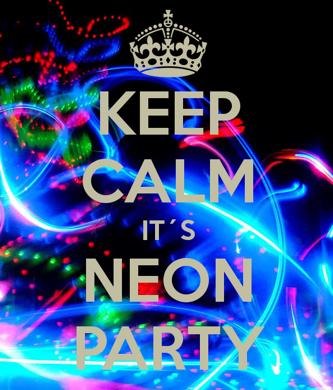 Keep Calm it's Neon Makeup!